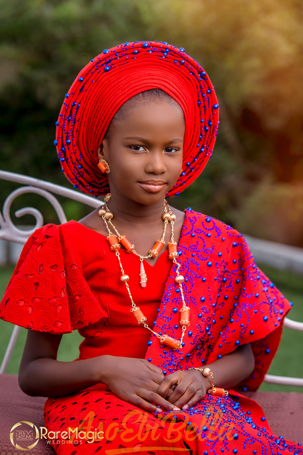 Red Blue Bright And Beautiful Nigerian Children S Day